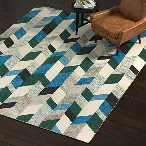 Blue And Green Area Rugs