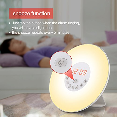 Totobay Wake-Up Light Snooze