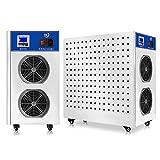 KLFD Generador de Ozono Industrial Móvil Máquina de Desinfección de Aire Esterilización y Desodorización Equipo de Desinfección de Ozono Utilizado en Hogares Escuelas Oficinas (10g CA 220V)