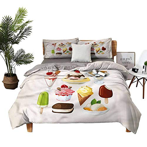 DRAGON VINES duvet cover Fruity Flavor Vintage Bed Sheets Queen Man and woman W85 xL85