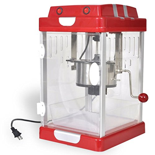 Great Features Of vidaXL Hot and Fresh Countertop Style Popcorn Popper Machine-Theater-Style - Bar S...