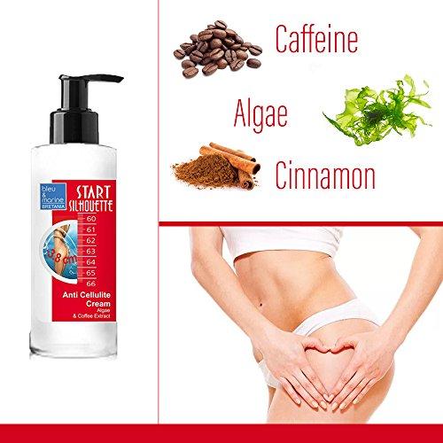 Crème Minceur Anti cellulite aux Algues Marines et Caféine ● Mobilise et brûle les graisses ● Action anti Yo-Yo, En Massage ou avec Ventouses.