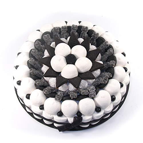 Tarta de golosinas -Black 27 cm