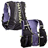 Nathan Women's Hydration Pack/Running Vest - VaporAiress 7L Capacity with 2.0 L Water Bladder Included, Hydration Backpack - Running, Marathon, Hiking, Outdoors, Cycling and More (Black, L-XXL)