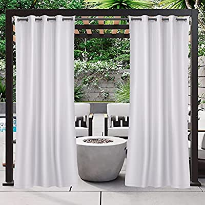 Amazon - 50% Off on 54×84 Inch Waterproof Outdoor Curtains for Patio, Blackout Outdoor Curtains