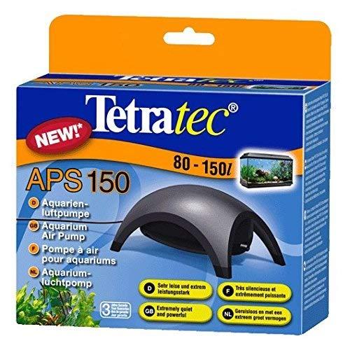 Tetra APS 150 Silent Luftpumpe für Aquarien, Schwarz