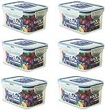 LOCK & LOCK Frischhaltedosen - 0,36 l - 15,1 x 10,8 x 4,5 cm - HPL810