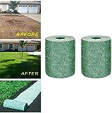 Biodegradable Grass Seed Mat,Seed Starter Mat, for Fertilizer Garden Picnic Growing Plant.20x300cm(Not Include Seed) (2PCS)