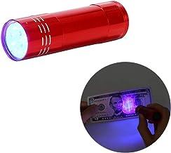 ORIYUKKI LED Ultraviolet, Black Light, Durable, Low Power Consumption, Mini Flashlight, Multifunctional,Ultraviolet Black ...