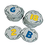 Fun Express - Alphabet & Number Recognition Step Game - Toys - Games - Outdoor & Travel Game Sets - 26 Pieces