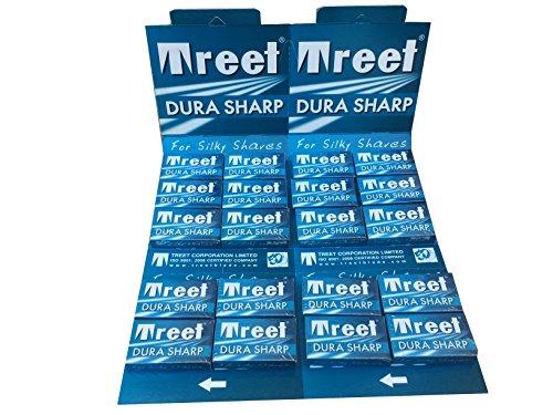 Treet Dura Sharp Lot de 200 lames de rasage