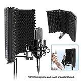 OurLeeme Escudo de aislamiento de micrófono, Panel de...