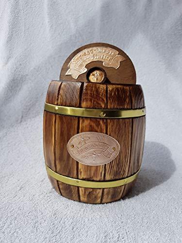 das-Honigfass OHNE Honig EIN Geschenk für Imker, es ist eine Innovative Geschenkidee, in Präsentkorb integrierbar gut als Souvenir geeignet Super für Jede Imkerei