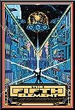 ZzSTX Poster Das Fünfte Element Sci-Fi Film Bruce Willis