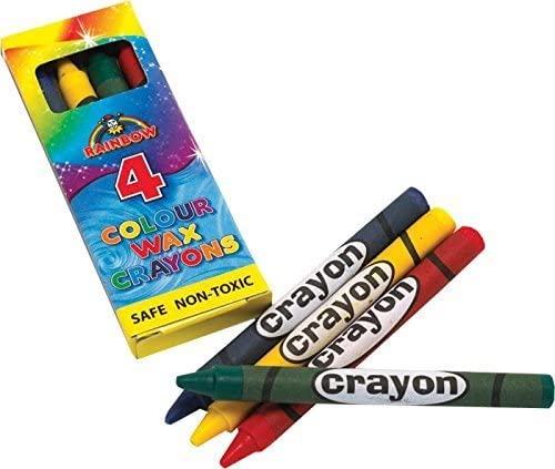 Wax Crayons 12 x Packs Party2u Beauty products Ranking TOP11 Of by 4 Coloured
