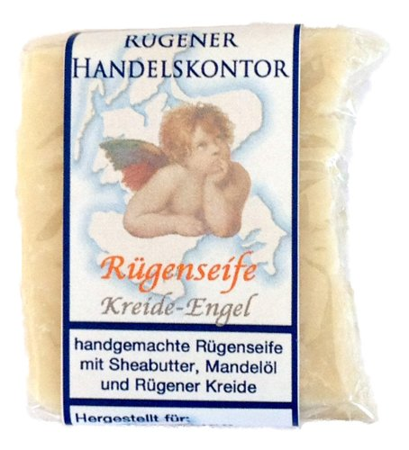 Rügenseife: Kreide-Engel mit Rügener Heilkreide