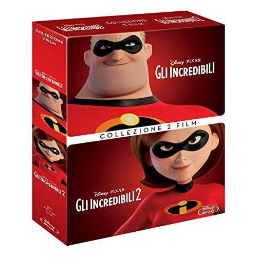 Cof Gli Incredibili 1,2 (2 Blu Ray)