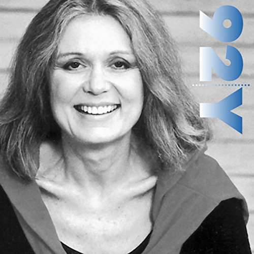 Gloria Steinem with Marie Wilson at the 92nd Street Y audiobook cover art