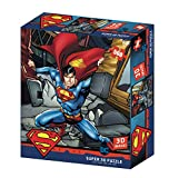 DC Comic SM32523 Superman Strength 3D - Puzle, Multicolor