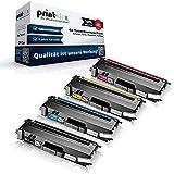 4x cartucce toner compatibili per Brother MFC l 8600 CDW MFC l 8650 CDW MFC l 8850 CDW Nero Ciano Magenta Giallo Pacco risparmio TN326BK TN326C TN326M TN32
