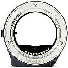 JFOTO TA-GA3 Techart Autofocus Lens Adapter for Contax G Lens Mount to Sony E NEX A9 A7RIII A7III A7RII A7II A7s A7r A7 Camera