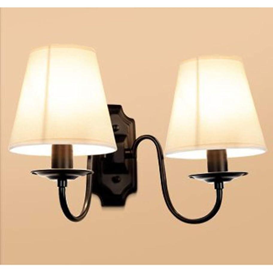 告白数学者ブースJXZHI ランプウォールランプ、ベッドサイドベッドルームアイル回廊シンプルなレトロなクリエイティブLEDウォールランプウォールランプ装飾ランプ (Color : B)