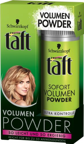 3 Wetter taft Powder Volumen Sofort Volumen Powder, 2er Pack (2 x 10 g)