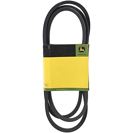 John Deere OEM M144044 Transmission Belt Fits LT150 LT160 LT180 LT190 and X300 Series Lawn Mowers