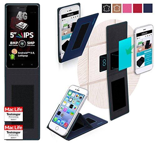 Hülle für Allview X2 Soul Lite Tasche Cover Hülle Bumper | Blau | Testsieger