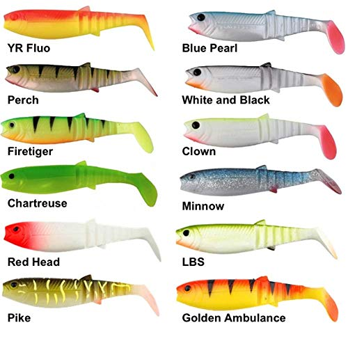 Savage Gear Cannibal SHAD 15 cm 33G, Roach