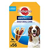 Pedigree Pack de 56 Dentastix de uso diario para la limpieza dental de...
