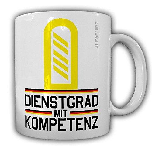 Tasse Oberstabsgefreiter Marine Dienstgrad Bundeswehr OStGefr Militär Rangabzeichen Abzeichen Schulterklappe Kaffee Becher #20737