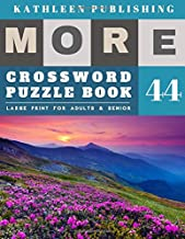 Crossword Puzzles Large Print: Crossword Quick | More 50 Easy Puzzles Large Print Crosswords to Keep you Entertained for Hours | Nature Design (crossword books quick)