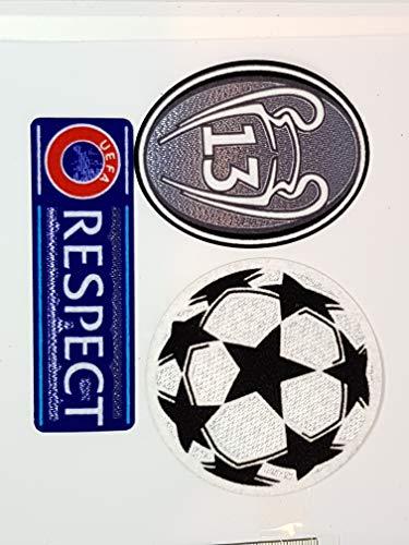 Parche de 13 Estrellas de campeones del Real Madrid. Parche para Planchar.