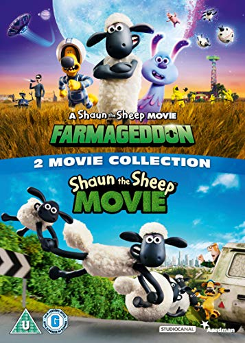 Shaun the Sheep 2 Movie Collection [DVD] [2019]