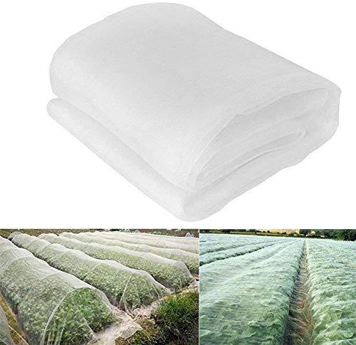 Preisvergleich Produktbild Insektennetz,  Garten-Gemüse-Schutznetz,  Pflanztunnel,  feinmaschig,  Pflanzenschutznetz,  Obst,  Blumen,  Gewächshaus