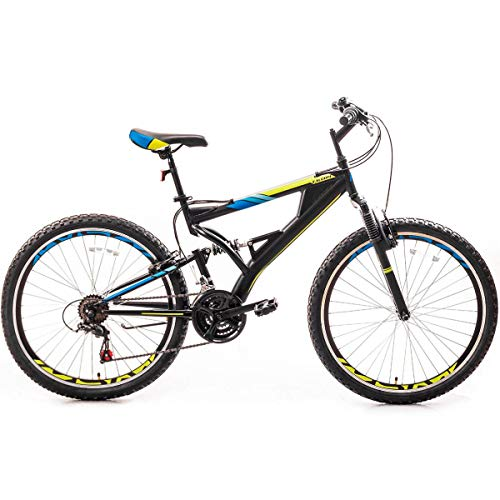 CYAYQ 26 Inch Mountain Bike,with Full Suspension -Speed Aluminum Frame Bicycle High-Carbon Steel Alloy Frame Mountain Bicycle for Student