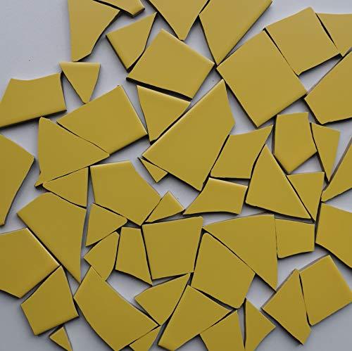 Fliesenbruch frostfest Verschiedene Mixe Mosaik Bruchfliesen (1.0, dunkel gelb K142)