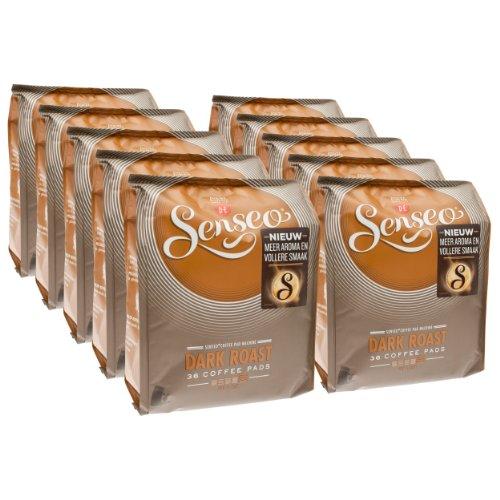 Douwe Egberts Senseo kräftig / dunkle Röstung, Kaffee Pads Classic (36 Kaffeepads/ 250g)