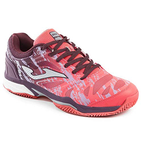 Joma Tennisschuhe ON Earth T_SLAM Lady 910 Fuchsia Scarpa Donna, Damen, Fuchsia, 38