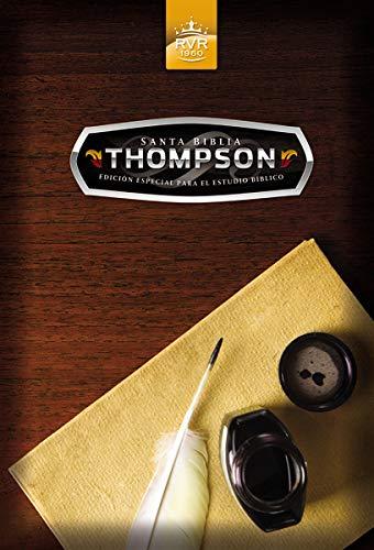 Santa Biblia Thompson edicin especial para el estudio bblico RVR 1960 (Spanish Edition)