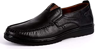 Hommes Mocassins Bateau Cuir Conduite Chaussures Penny Loafers Ville Casual Chaussons