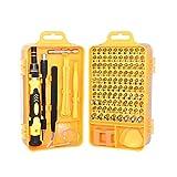 FOXPIG Teléfono Inteligente Repair Tool Kit - 115 Juego de Piezas de reparación for teléfonos Inteligentes, tabletas, cámaras, Relojes - Compatible con Apple, Samsung, Sony y más (Color : B)