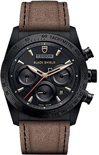 Tudor Fastrider Negro Escudo 42000CN Hombres del Reloj
