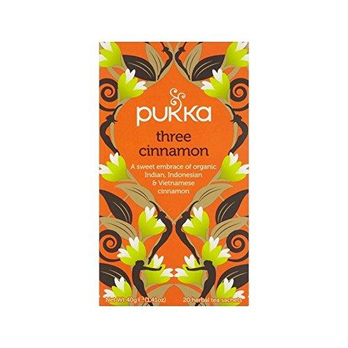 Pukka Organischen Drei Zimt Teebeutel 20 X 2G - Packung mit 2