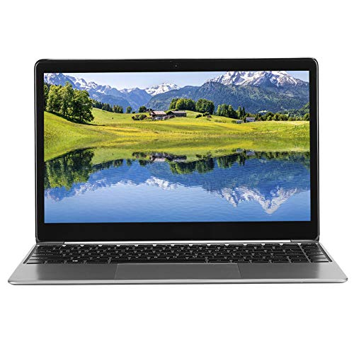 Computadora portátil de 14.1 pulgadas,computadora portátil con teclado retroiluminado,pantalla IPS Full HD de 1920x1080,procesador Intel Lake N4100,RAM LPDDR4 de 8GB,SSD de 256GB,Windows 10(Plata)