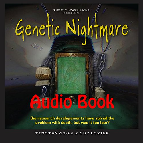 Genetic Nightmare audiobook cover art