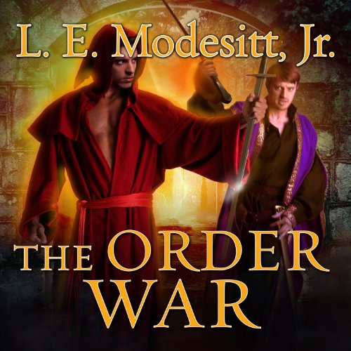The Order War     The Saga of Recluce Series, Book 4              By:                                                                                                                                 L. E. Modesitt Jr.                               Narrated by:                                                                                                                                 Kirby Heyborne                      Length: 22 hrs and 43 mins     18 ratings     Overall 4.6