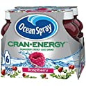 6-Pack Ocean Spray Cran-Energy, Cranberry Raspberry Energy Juice Drink