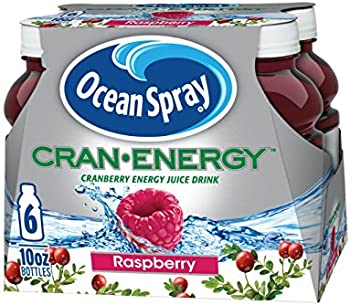 6-Pack Ocean Spray Cran-Energy, Cranberry Raspberry Energy Juice Drink